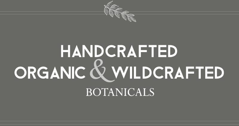 Handcrafted Organic and Wildcrafted Biotanicals